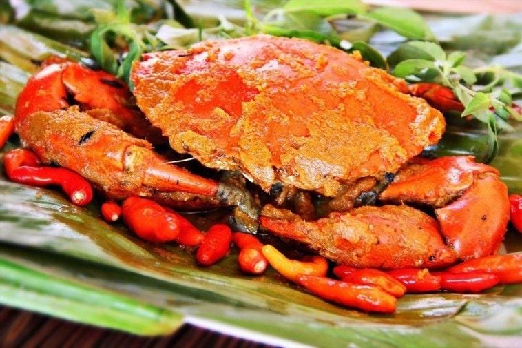 gambar makanan khas kalimantan timur pepes kepiting