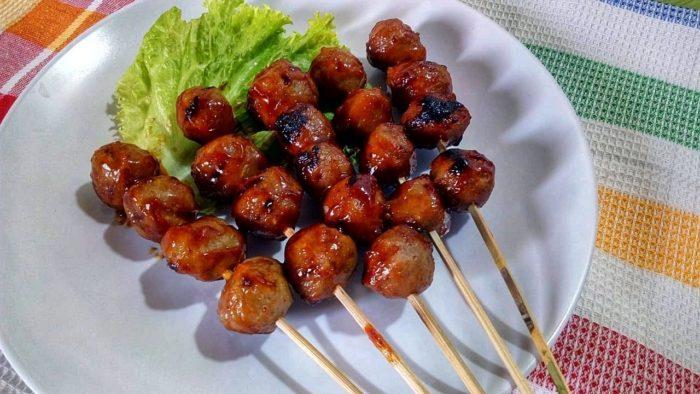 gambar makanan khas malang bakso bakar