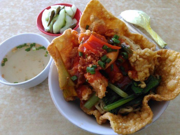 gambar makanan khas malang cwie mie