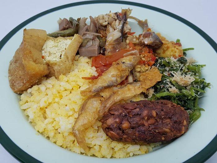 gambar makanan khas malang nasi jagung