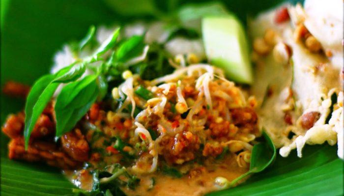 gambar makanan khas malang nasi pecel