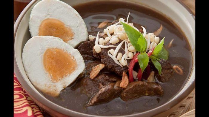 gambar makanan khas malang rawon