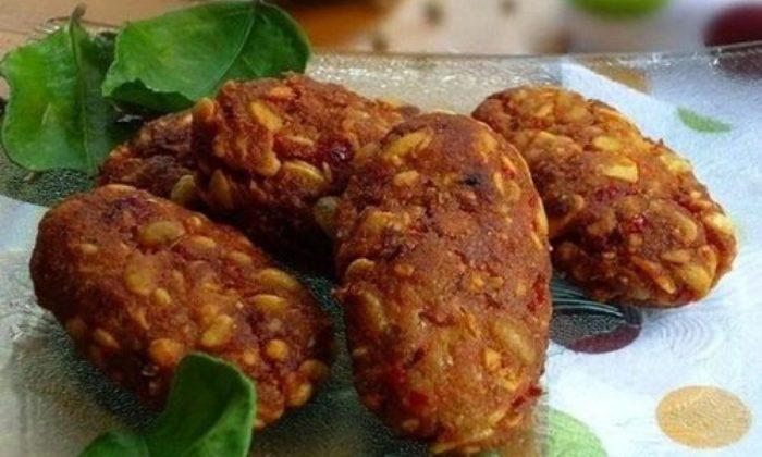 gambar makanan khas malang tempe mendol