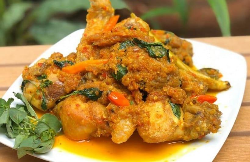 gambar makanan khas manado Ayam Woku Woku