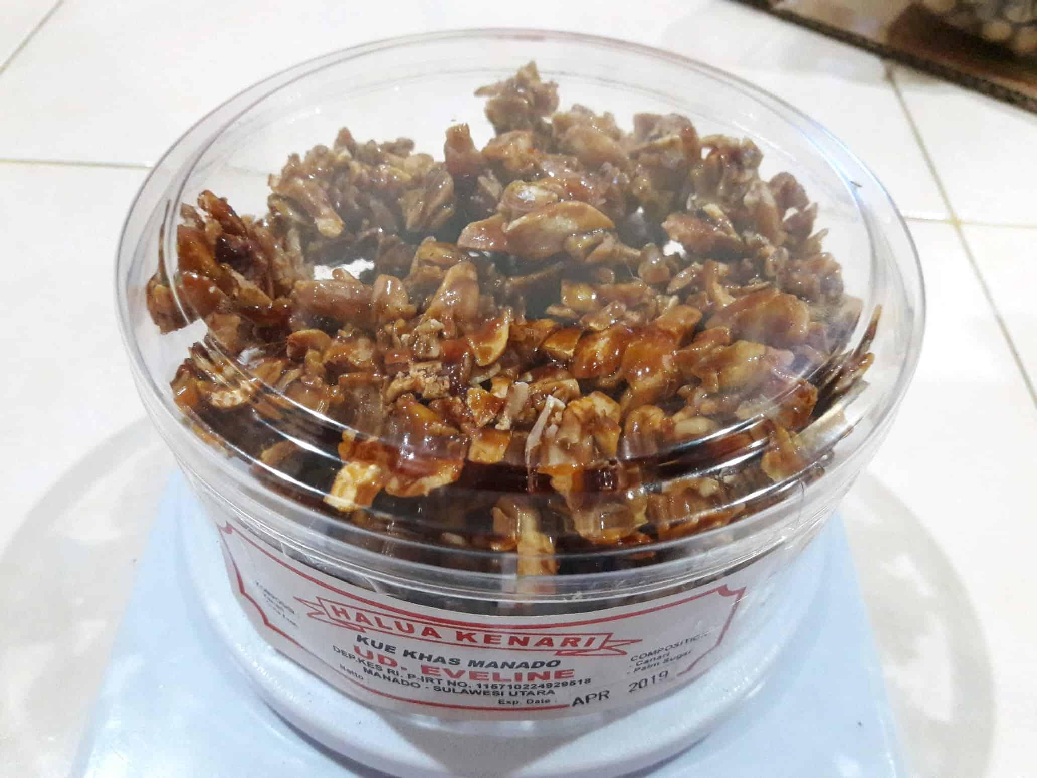 gambar makanan khas manado Halua Kenari