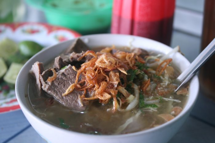 gambar makanan khas solo soto kwali