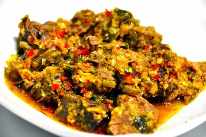 gambar makanan khas sulawesi utara Tinoransak