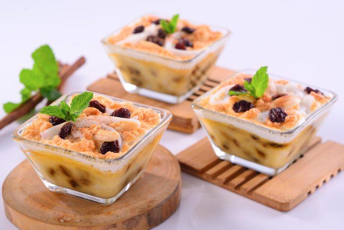 gambar makanan khas sulawesi utara klapertart