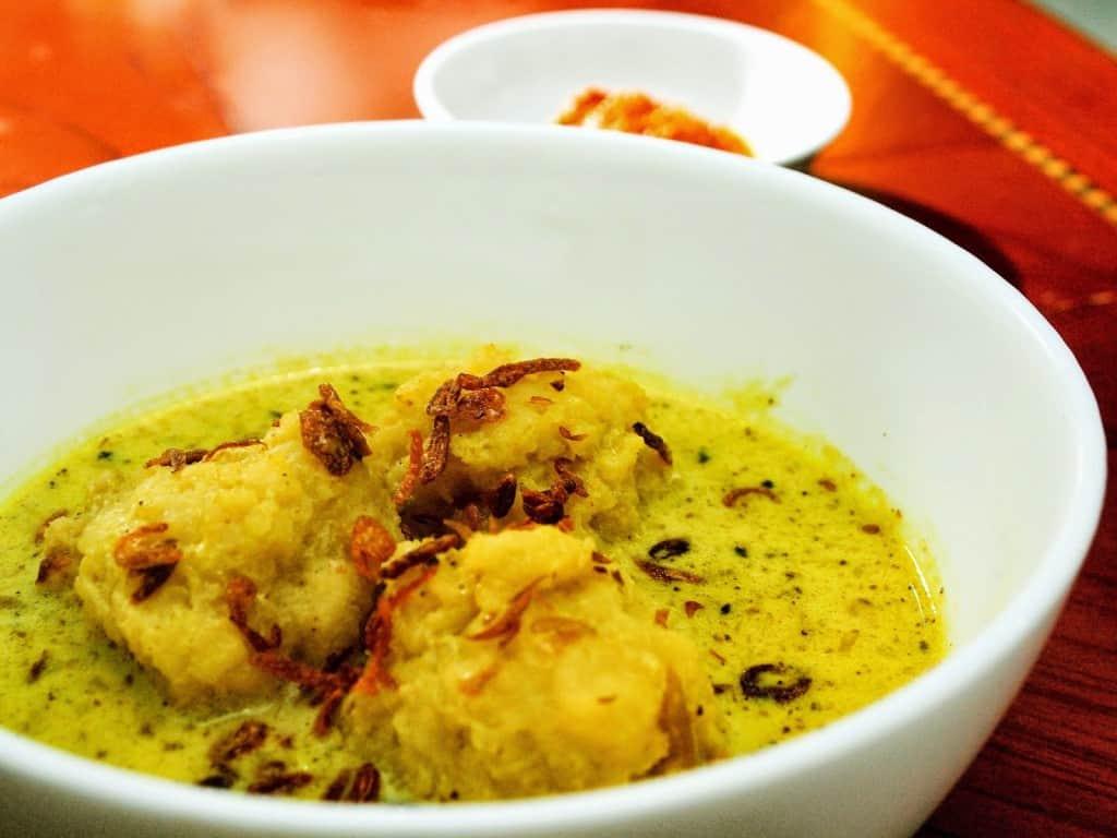 gambar makanan khas sumatera selatan celimpungan