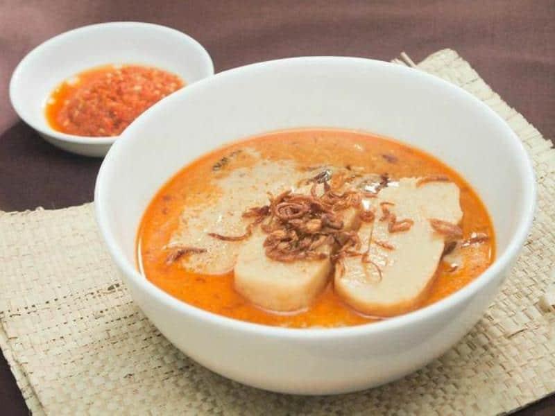 gambar makanan khas sumatera selatan laksan