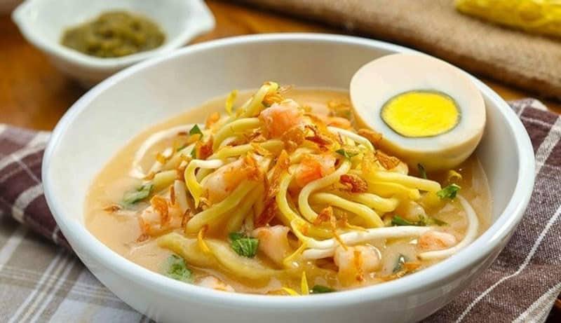 gambar makanan khas sumatera selatan mie celor