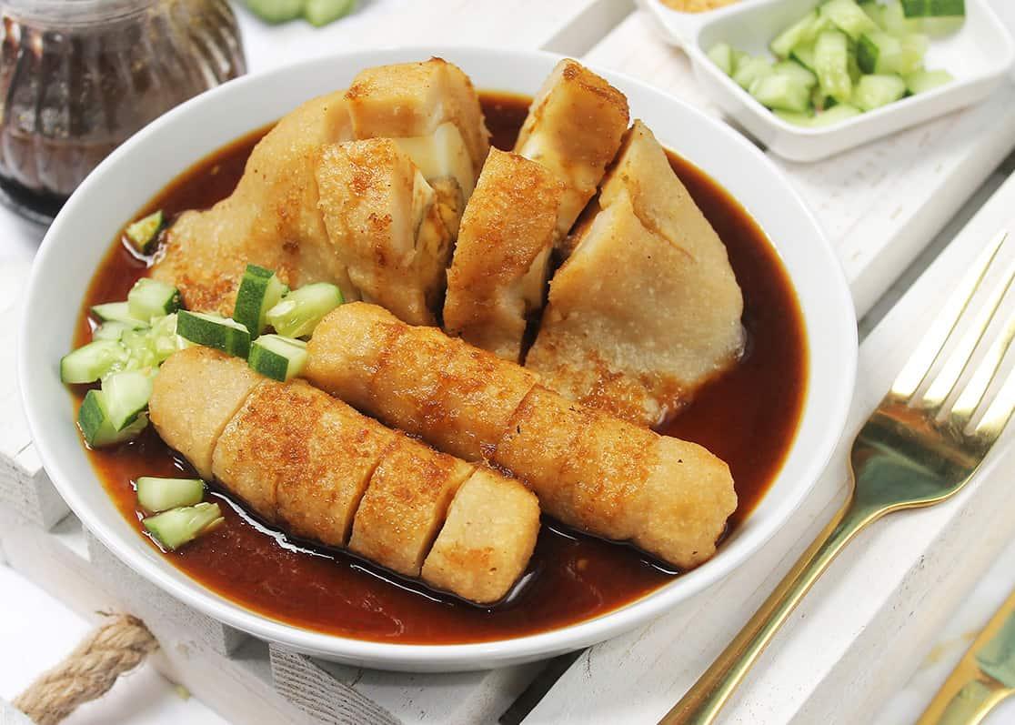 gambar makanan khas sumatera selatan pempek