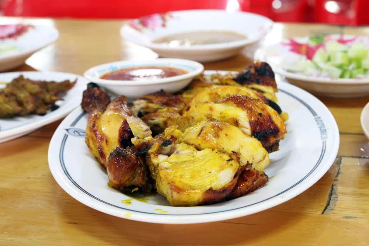 gambar makanan khas thailand Gai Yang