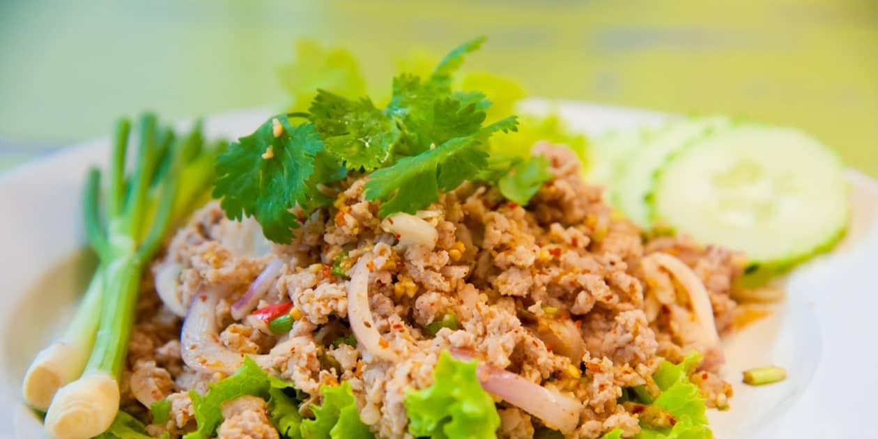 gambar makanan khas thailand Larb