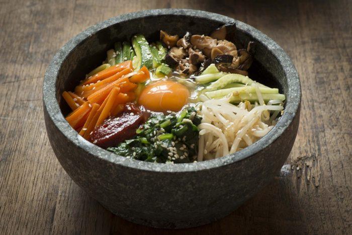 gambar makanan korea Bibimbap