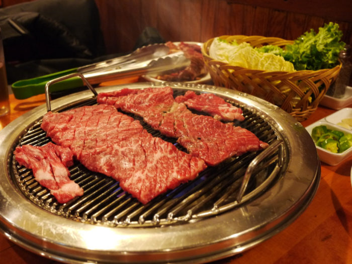 gambar makanan korea Gogigui