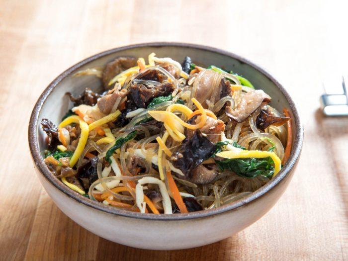 gambar makanan korea Japchae