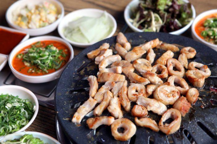 gambar makanan korea Makchang Gui