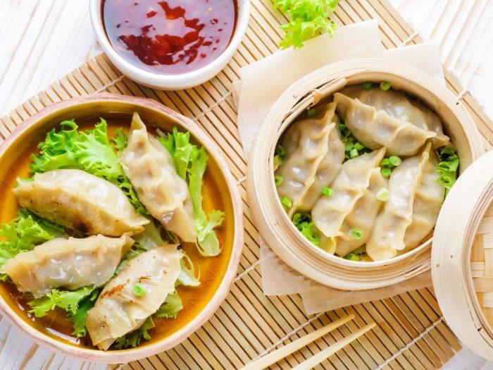 gambar makanan korea Mandu