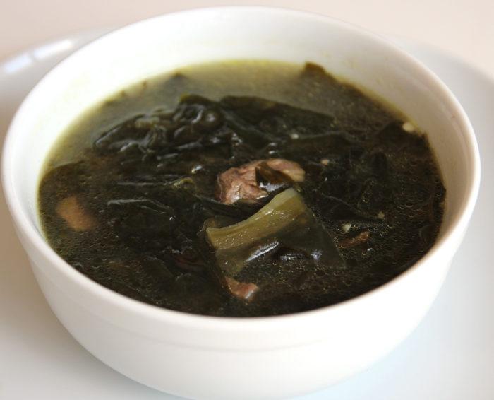 gambar makanan korea Miyeokguk