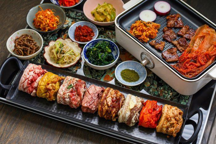 gambar makanan korea Samgyeopsal
