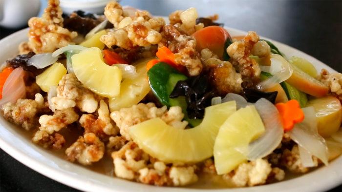 gambar makanan korea Tangsuyuk