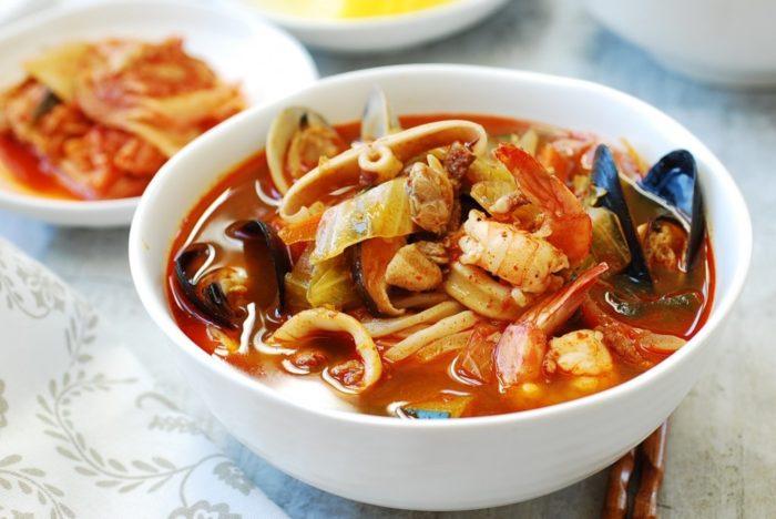 gambar makanan korea jjamppong