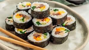 gambar makanan korea kimbap