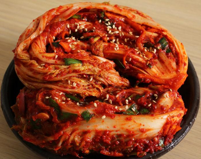 gambar makanan korea kimchi