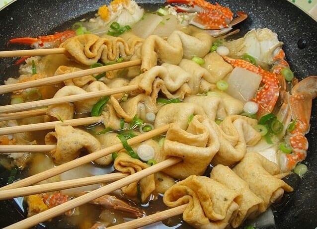 gambar makanan korea oden