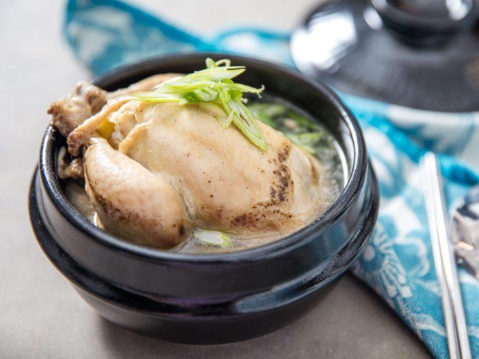 gambar makanan korea samgyetang