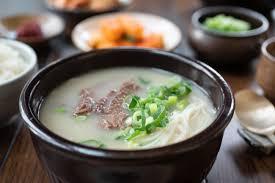 gambar makanan korea seolleongtang