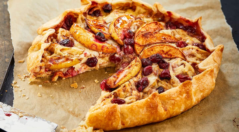 gambar makanan kekinian Cinnamon Apple Pie