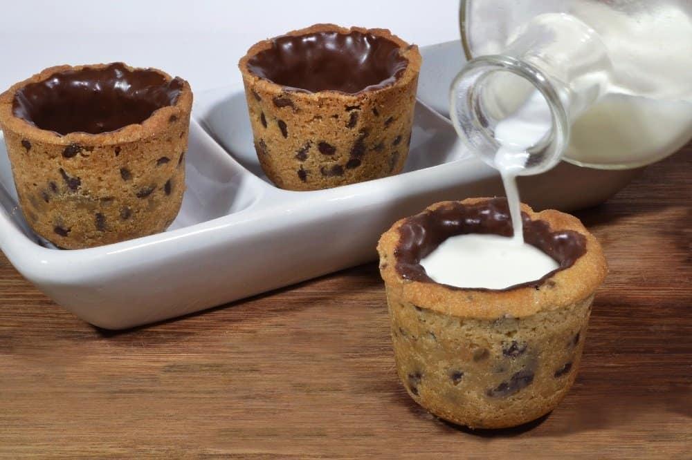 gambar makanan kekinian Cookies Shot