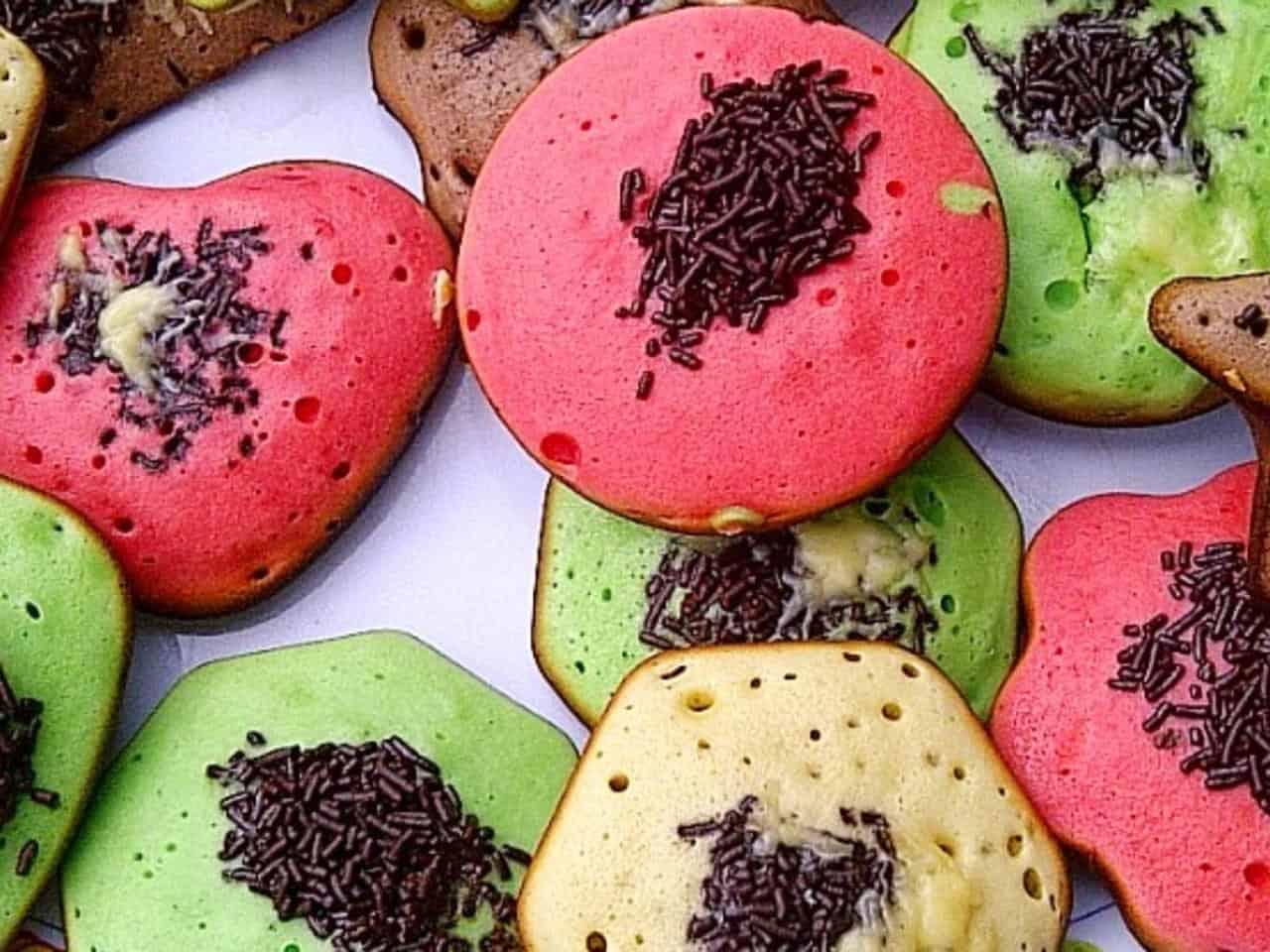 gambar makanan kekinian Kue Cubit Mini Mangga