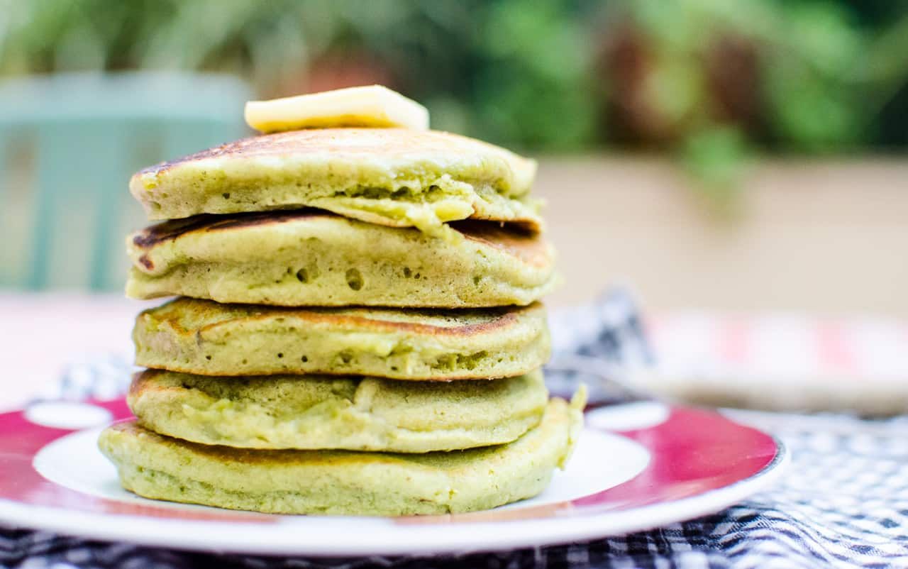 gambar makanan kekinian Pancake Fluffy