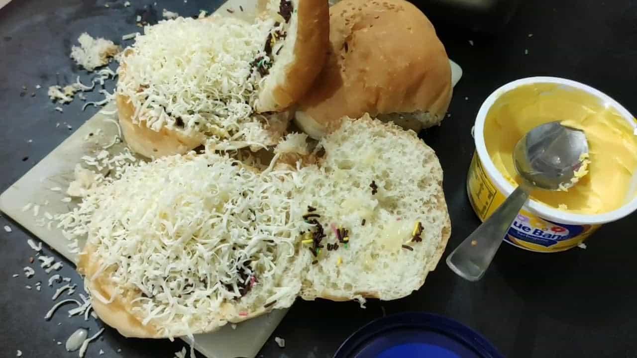 gambar makanan kekinian Roti Kukus Panggang