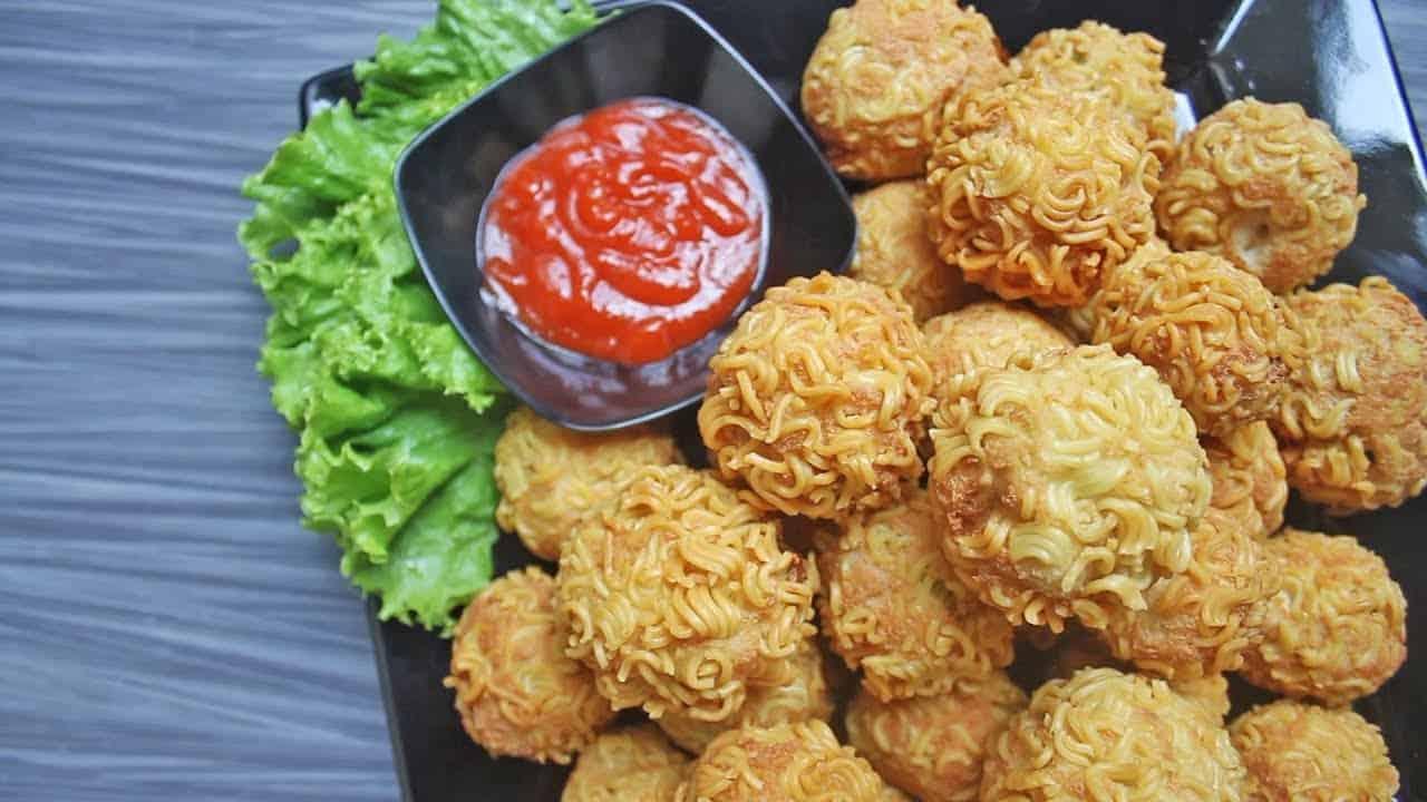 gambar makanan kekinian Tahu Rambutan
