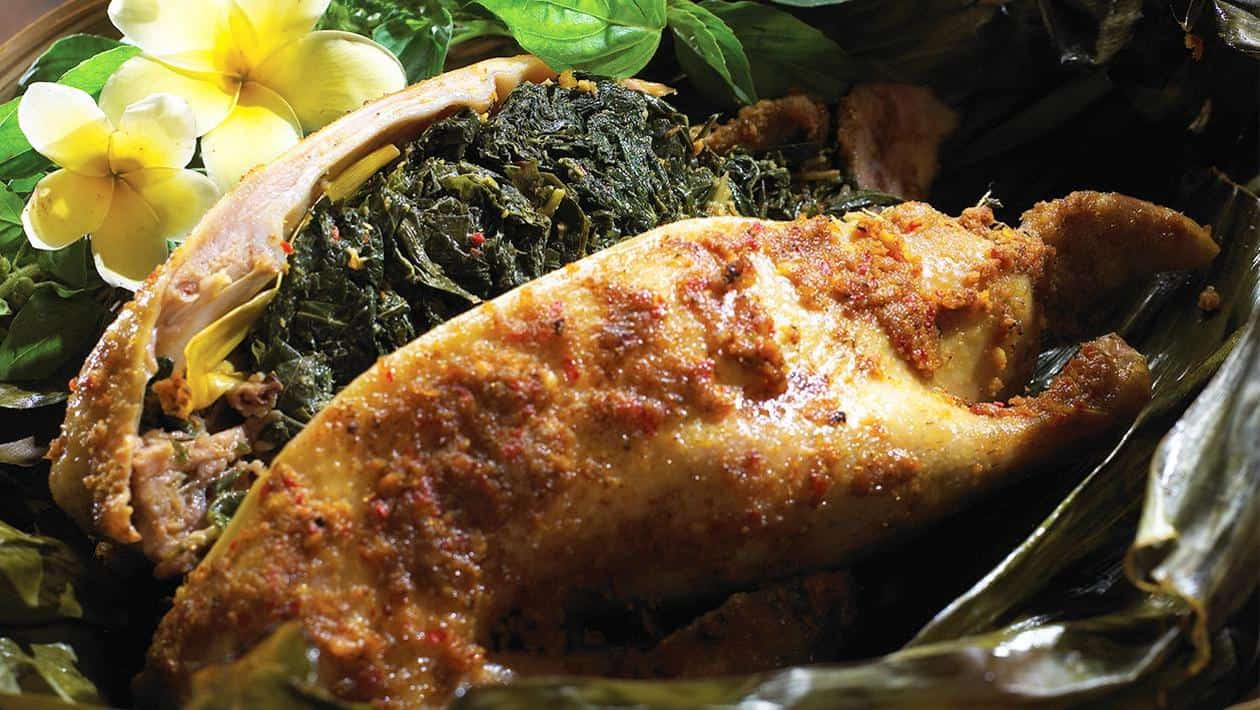gambar makanan khas bali Bebek Betutu