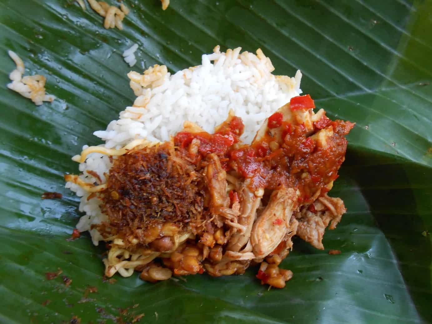 gambar makanan khas bali Nasi Jinggo