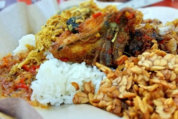 gambar makanan khas bali Nasi Pedas