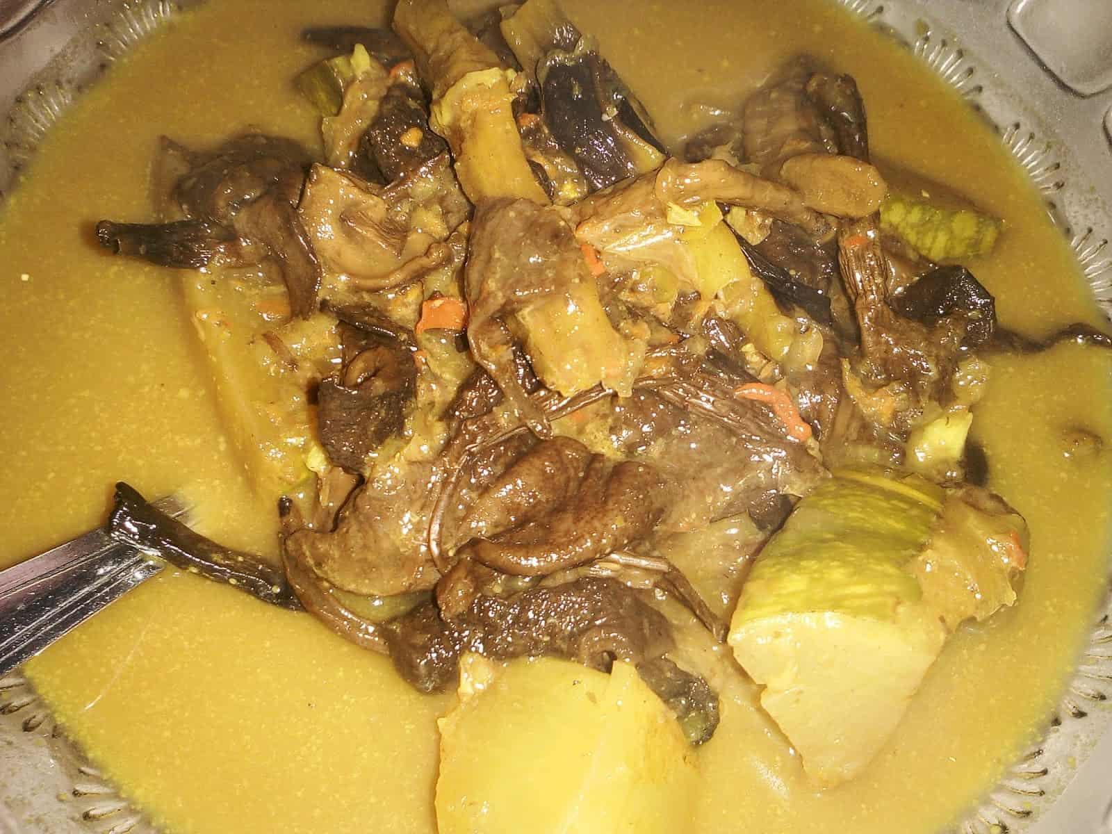 gambar makanan khas bangka belitung Lempah Kulat
