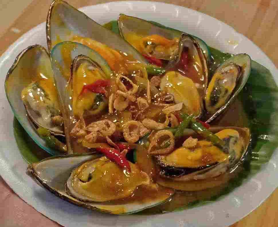 gambar makanan khas bangka belitung Lokan Laut
