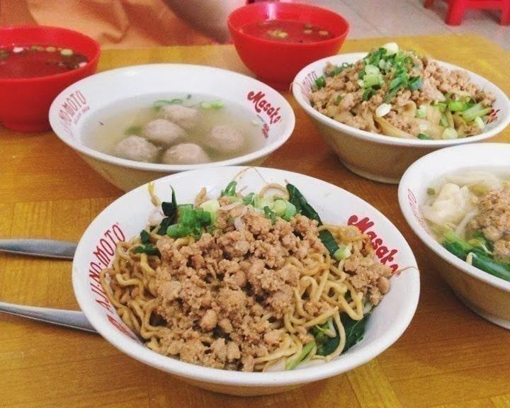gambar makanan khas bangka belitung Mie Ayam Bangka