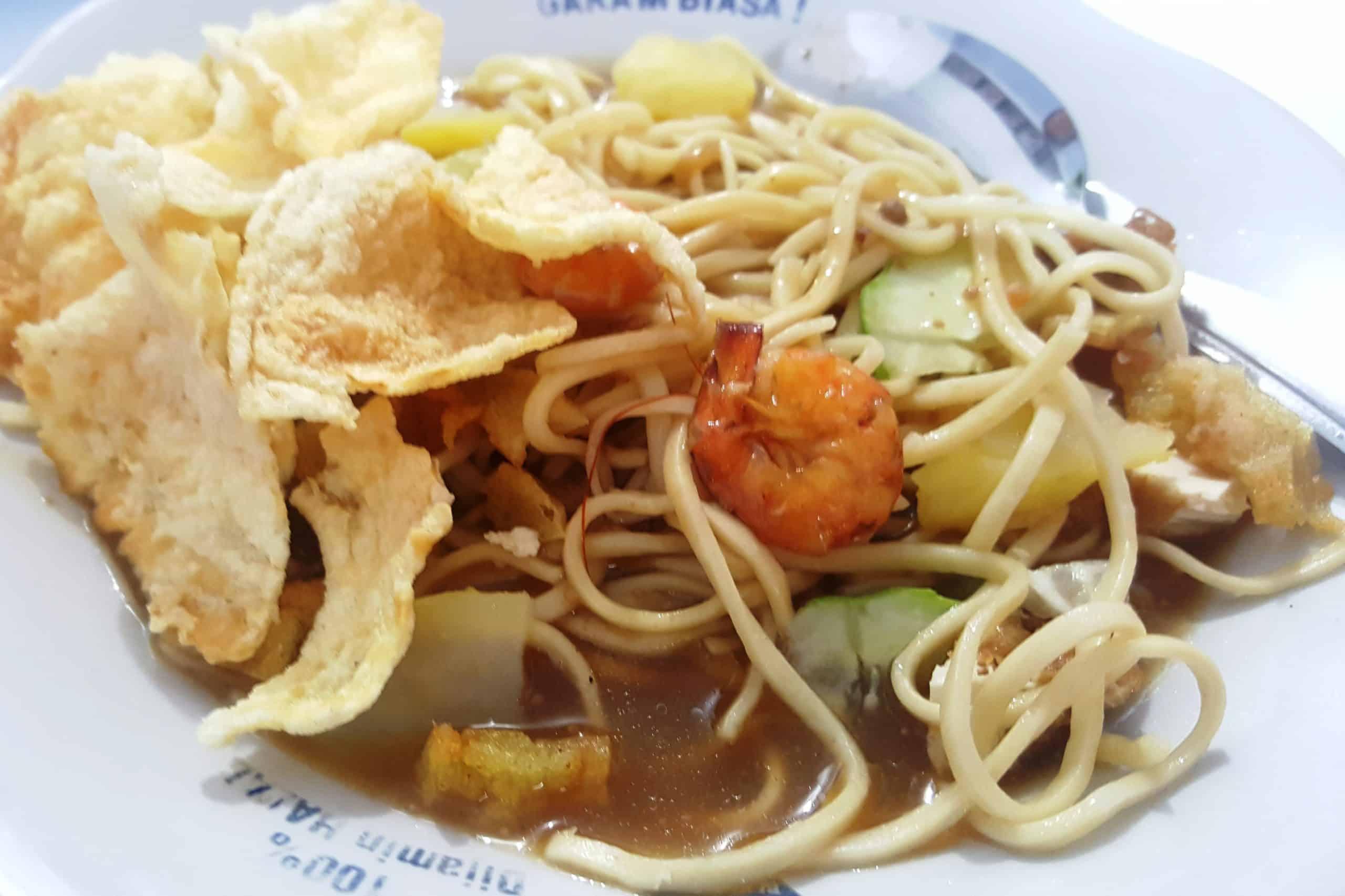 gambar makanan khas bangka belitung Mie Belitung