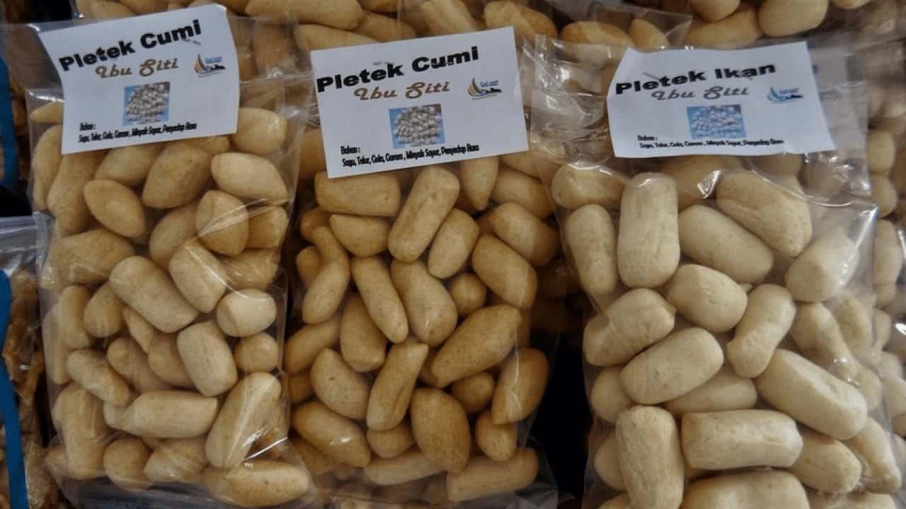gambar makanan khas bangka belitung Pletek