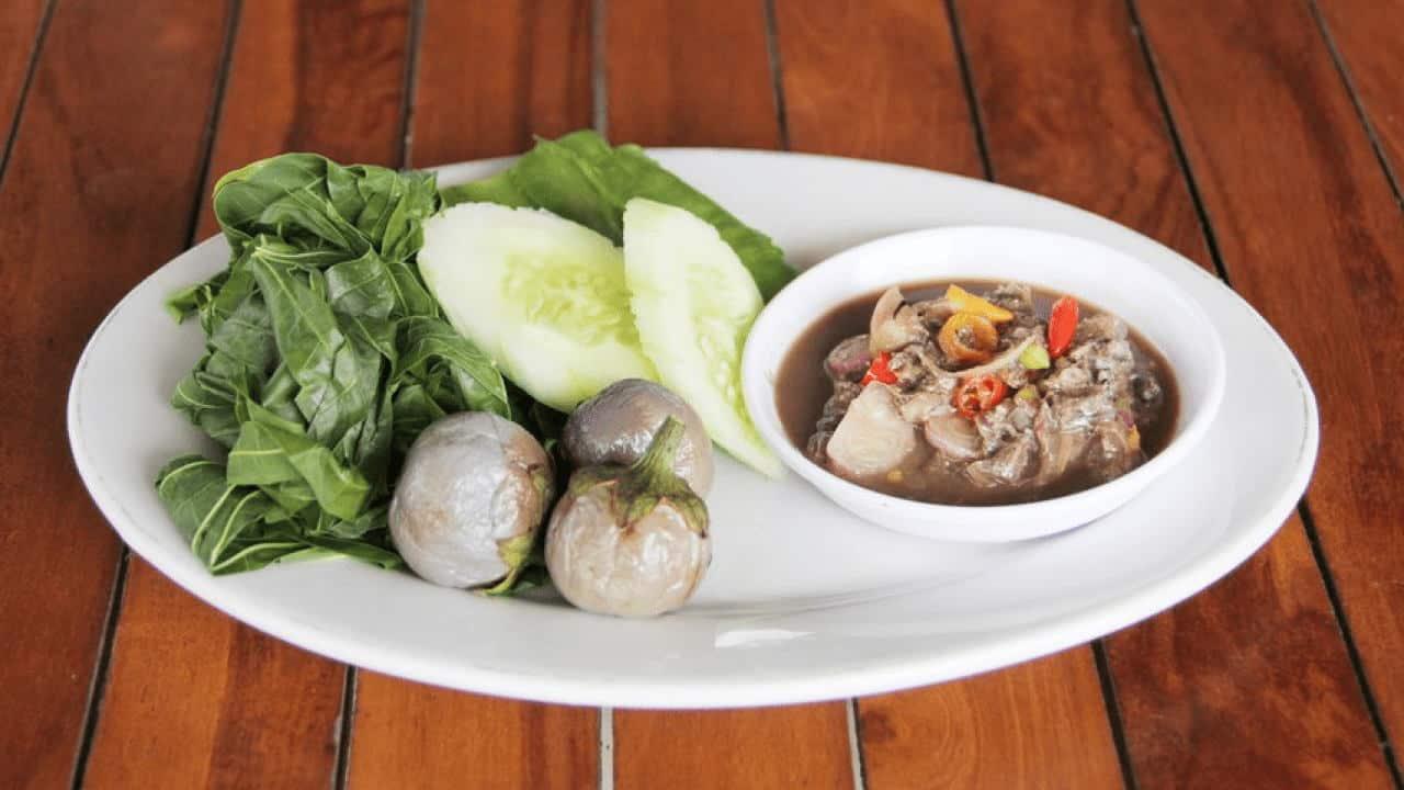 gambar makanan khas bangka belitung Sambal Rusip