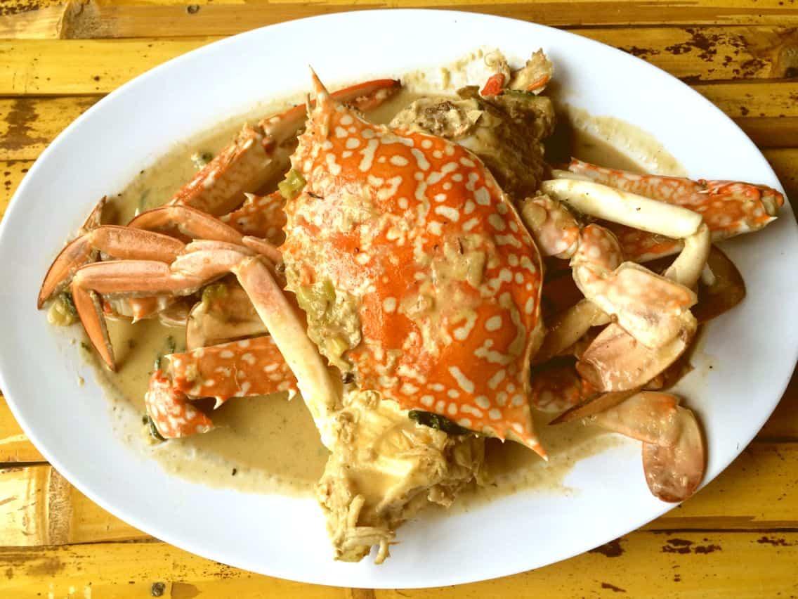 gambar makanan khas bangka belitung Santan Kepiting