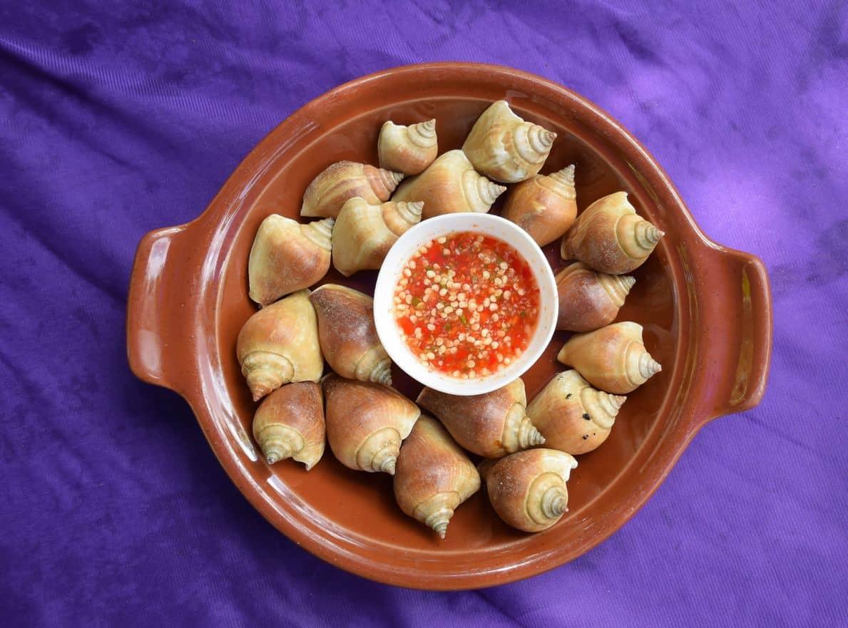 gambar makanan khas bangka belitung Siput Gong Gong