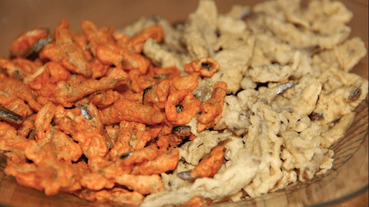 gambar makanan khas bangka belitung Teri Krispi